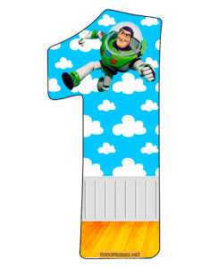 Buzz Lightyear numbers printables