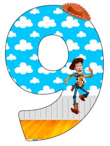 Numeros de Toy Story