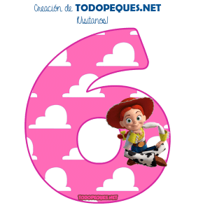 Toy Story numbers free download