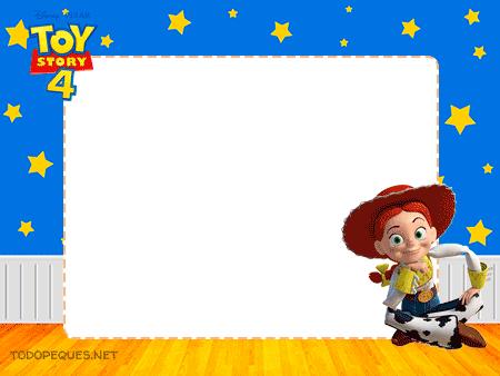 Jessy marcos etiquetas Toy Story 4