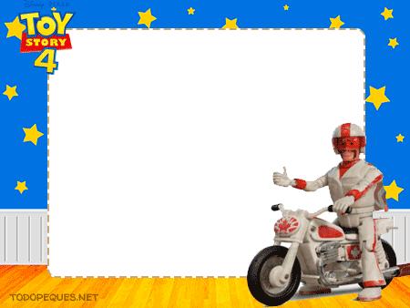 Marcos de Toy Story 4 Invitaciones
