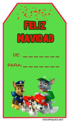 feliz navidad tarjetas para imprimir regalos