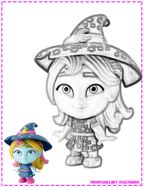 Super monsters Coloring pages