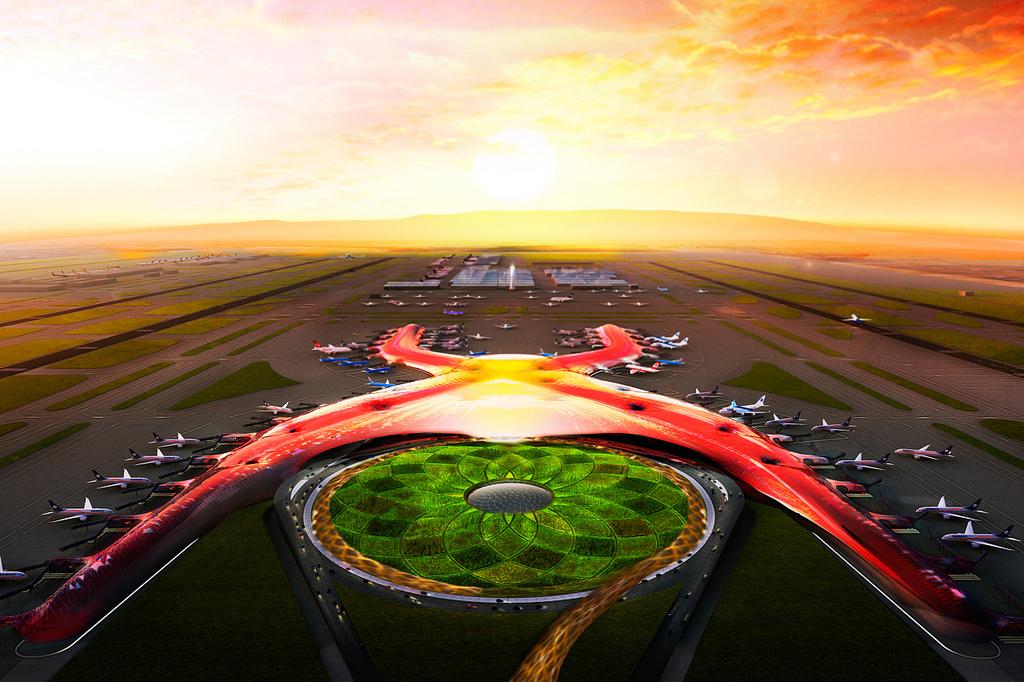 Nuevo Aeropuerto Internacional de la Ciudad de México
