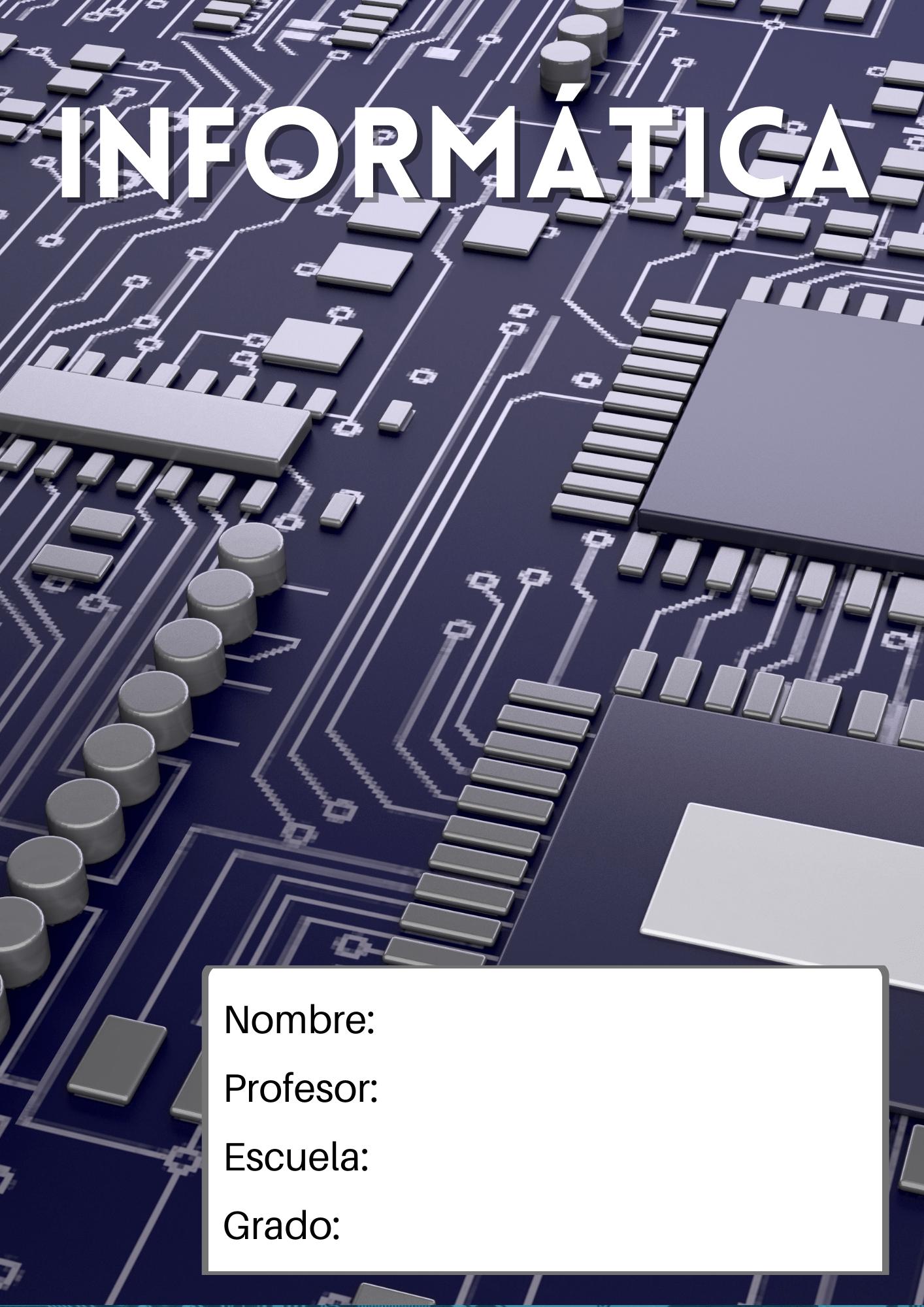 portada para informática