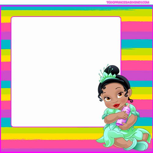 Baby Disney Princess Stickers