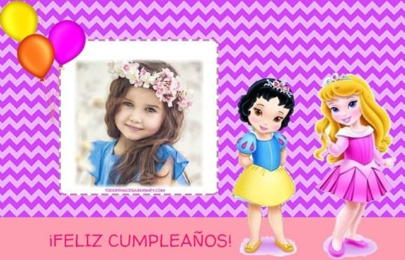 Princesas Feliz Cumpleanos