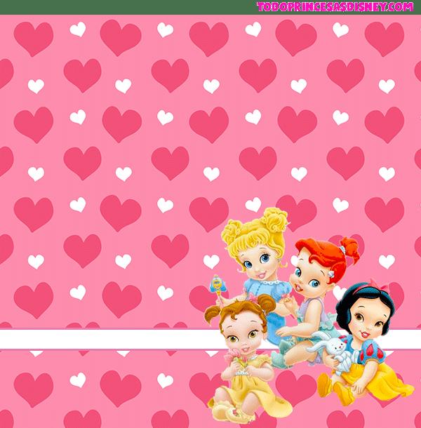 Imagenes princesas bebes marcos tarjetas