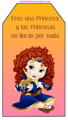 Marcadores de pagina de princesas disney