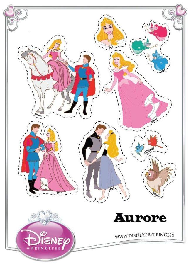 Sleeping Beauty Stickers