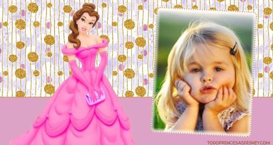 Editar fotos con princesas disney