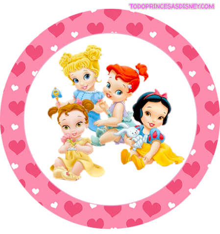 Princesas Disney Imprimibles