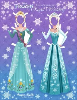 Jugar A Vestir Elsa Y Anna De Frozen Princesas Disney
