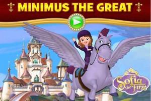 Juego De Princesa Sofia Con Minimus El Caballo Princesas Disney