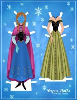 Jugar A Vestir A Elsa Y Anna Frozen Princesas Disney