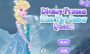 Juego Para Vestir A Elsa De Frozen Princesas Disney