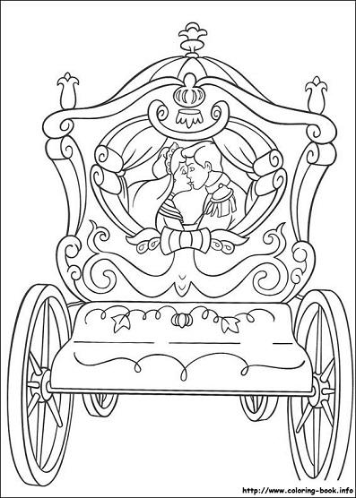 Dibujos De Cenicienta Para Colorear Princesas Disney