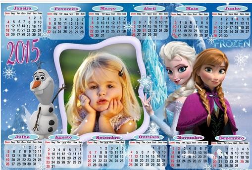 calendario frozen