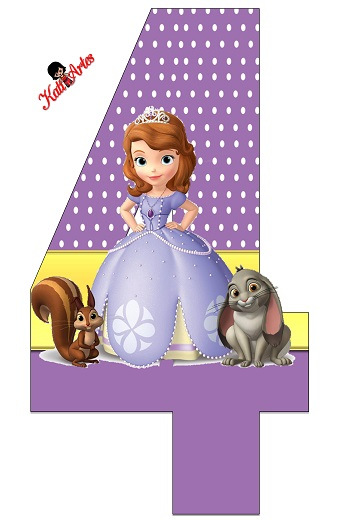 Nmeros de Princesita Sofa  Princesas Disney