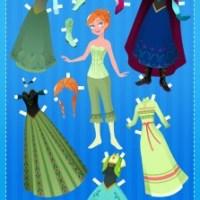 Paper Doll de Anna Frozen