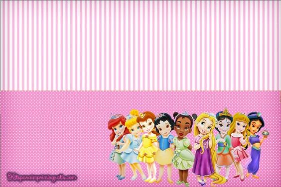 Etiqueta princesas Baby
