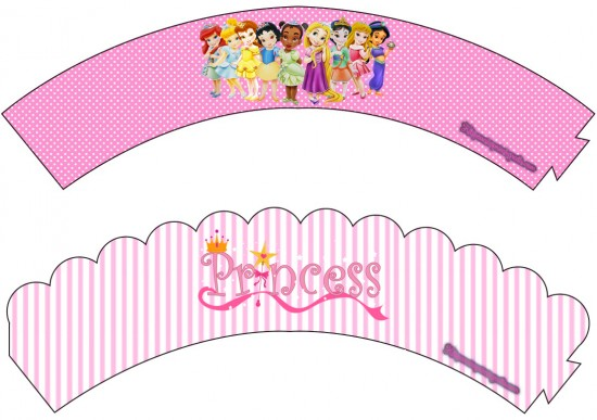 Wrappers Princesas Baby