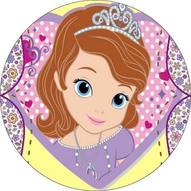 Kits imprimibles de Princesita Sofía para cumpleaños - Imprimibles gratis de Sofia Disney fiesta cumpleaños