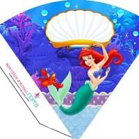 "Kit imprimible de Princesa Ariel ""La Sirenita"" para descargar e imprimir"