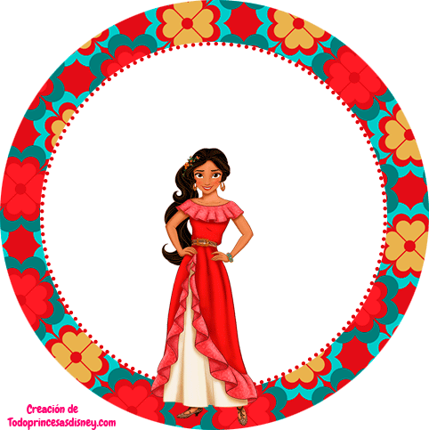Stickers elena de avalor topper