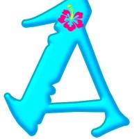 Letras de MOANA Alfabeto para descargar y decorar