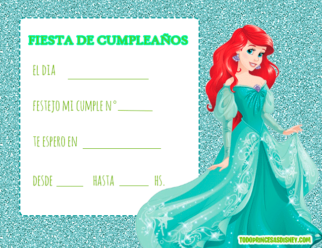 Descargar Gratis Tarjetas De Cumpleaños Frozen Princesas