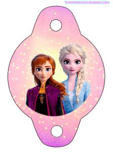 Adornos Frozen 2 cumpleanos