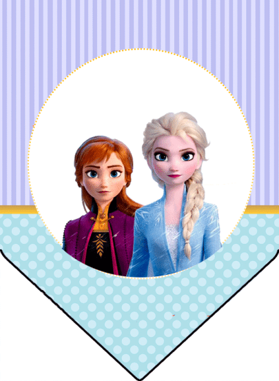 Banderines Frozen 2