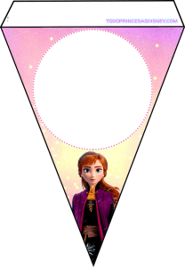 Banderines de Anna Frozen 2