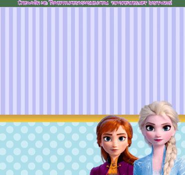 Etiquetas Frozen 2 stickers