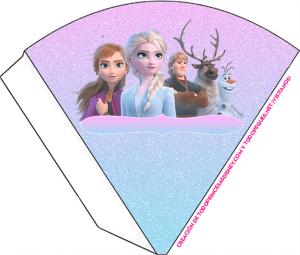 candy bar de Frozen 2 para imprimir gratis