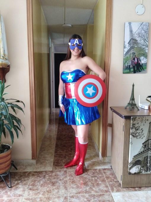 Comprar capitan america mujer