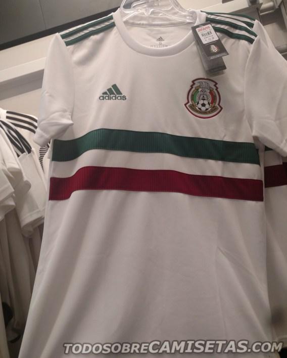Adidas e la seconda divisa del Messico 2018 | numerosette.eu