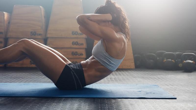9. Un vientre fuerte protege de las lesiones