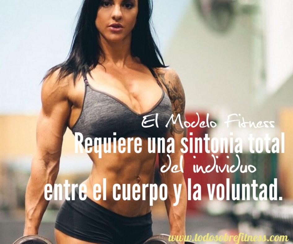 sr un modelo fitness