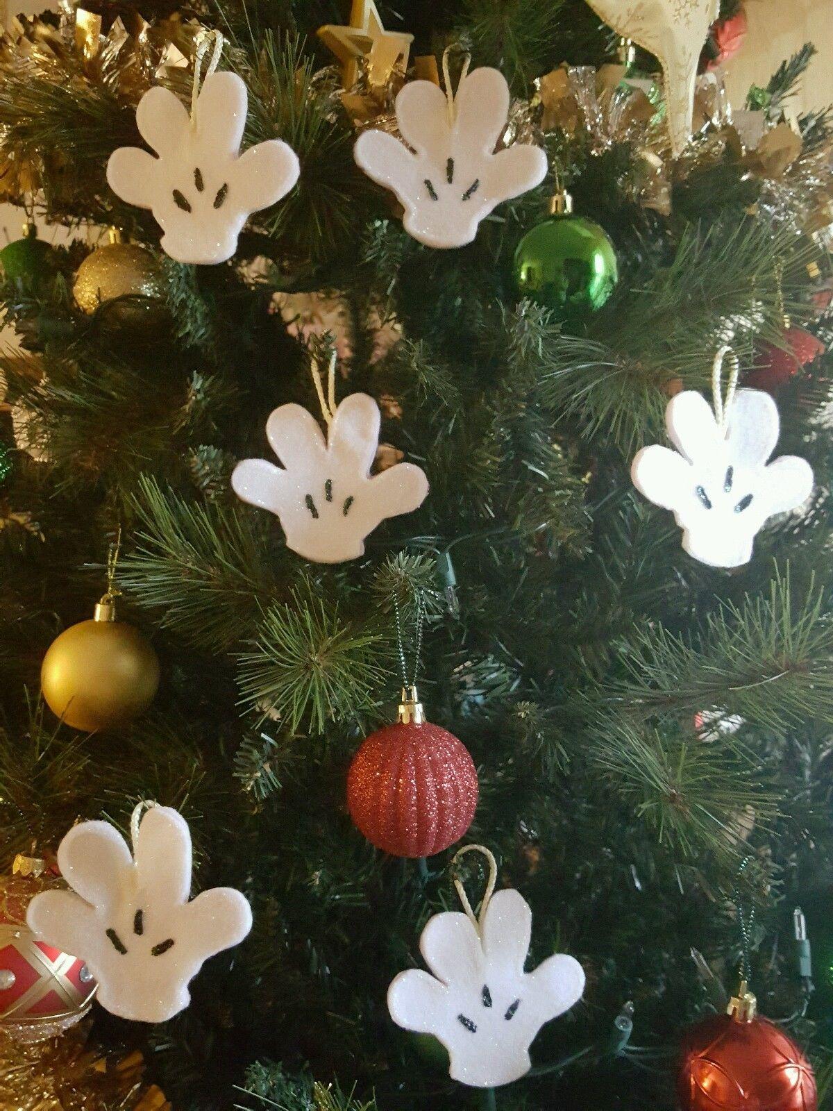 santa chair covers sets south auckland mickey mouse hands gloves christmas tree ornaments arbol navidad adorno 18 piece | todo sobre gato