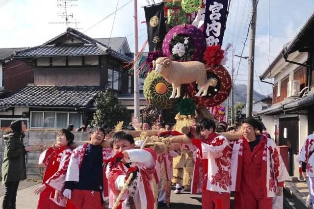 Omihachiman Sagicho Matsuri