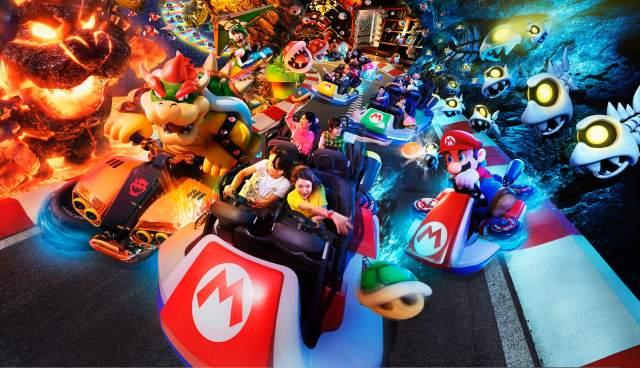 atracciones de Super Nintendo World japan