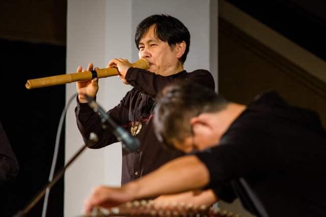 Shakuhachi, una flauta hecha con bambú koto