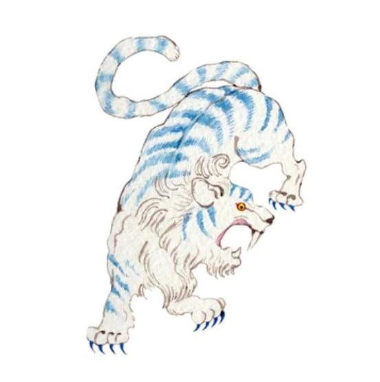 yokai  el tigre de Byakko
