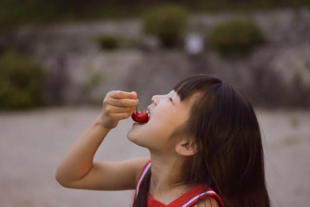 Sakuranbo cereza cherry
