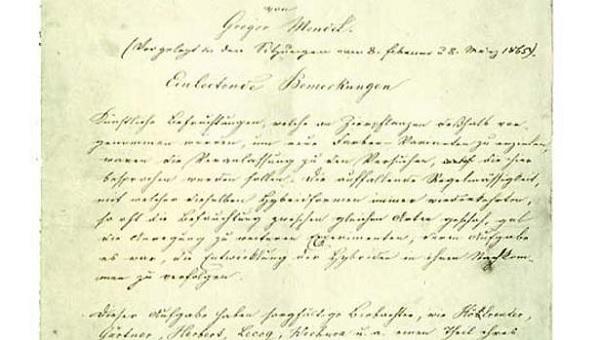 El manuscrito de Mendel - American Philosophical Society