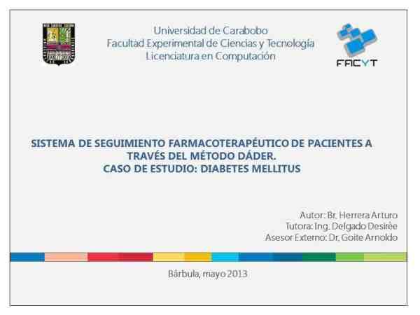 Diapositivas de la tesis de grado. Recomendaciones de como elaborarlas