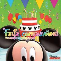 Tarjetas de Mickey de cumpleaños