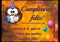 Cumpleaños feliz te deseamos a ti